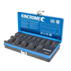 Kincrome 14pce 1/2 Drive Metric Impact Socket Set - K28201