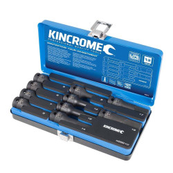 Kincrome 10pce 1/2 Drive Metric Hex Impact Socket Set - K28210