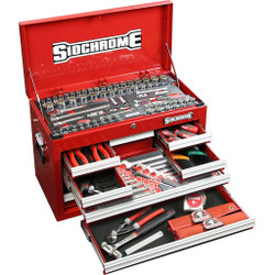 Sidchrome 176pce Metric A/F Tool Kit in 8 Drawer Chest - SCMT11702