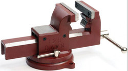 Dawn Utility Vice 100mm Swivel Base Anvil Forged Steel - 60430