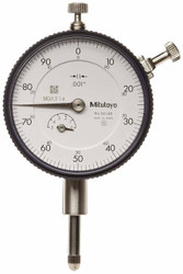 Mitutoyo Dial Indicator 0-100mm Lug Back - 2414S