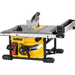 Dewalt 210mm Portable Lightweight Table Saw 1850W BONUS # DWE7485-XE