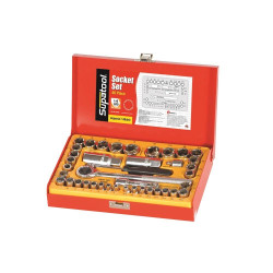 Supatool 40pce Socket Set 1/4 and 3/8 Drive Metric and Imperial - S2040