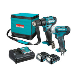 Makita 12V Max 2pce Cordless Combo Kit - CLX239