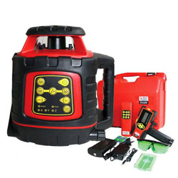 RedBack Self Levelling Rotary Green Laser Level Dual Grade - EGL624G