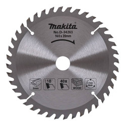 Makita 160mm x 40th Saw Blade # D-34263