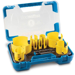 Sutton 8pce Plumbers Multi-Purpose Hole Saw Kit TCT H127 # H127MP7