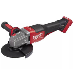 Milwaukee 18V Cordless 125mm 5 RAPID STOP Angle Grinder with Dead Man Paddle Switch Skin # M18FSAG125XPDB-0