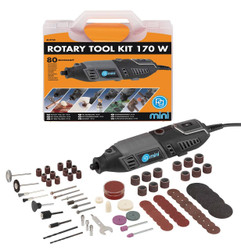 PG Mini Rotary MultiTool Kit 170w 80pce Accessory Kit # M.9750