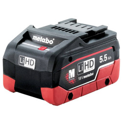 Metabo 18V 5.5Ah LiHD Lithium-Ion Battery Pack # 625368000