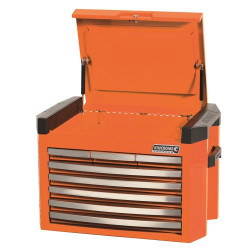 Kincrome 8 Drawer Contour Orange Tool Chest - K77480