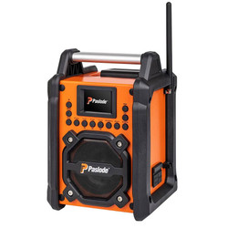 Paslode 7.4v Digital DAB Bluetooth JobSite Radio Charger Skin - B50000