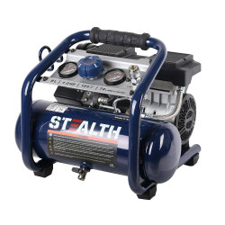 Stealth Quiet 1HP 8L Oil Free Air Compressor - AIRRUNNER