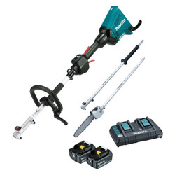 Makita Cordless 18Vx2 Brushless Multi-Function Powerhead and Pole Saw Kit - DUX60PSPT2