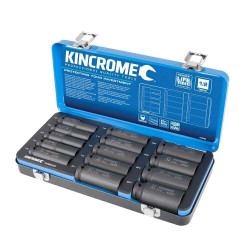 Kincrome 14pce 1/2 Drive Metric Deep Impact Socket Set - K28206