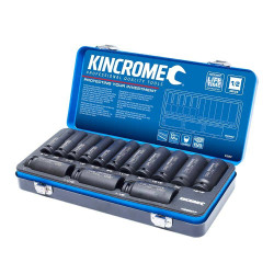 Kincrome 14pce 1/2 Drive Imperial Deep Impact Socket Set - K28207