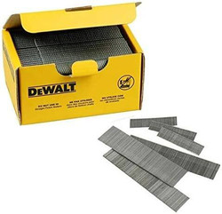 Dewalt 38mm 16 Gauge Nail Brads - Box of 2500 # DNBA1638GZ