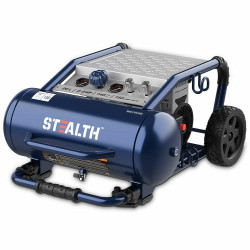 Stealth 20Ltr Quiet Oil Free Air Compressor 2HP # UTEPACK
