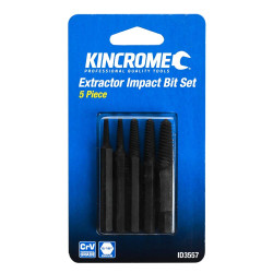 Kincrome 5pce Extractor Impact Bit Set 5/16 Drive - ID3557
