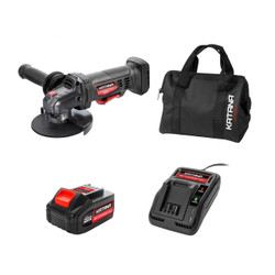 Katana 18V Charge-All Li-Ion Cordless 125mm Angle Grinder Kit - 220511