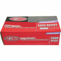 Airco 50mm C Series 16 Gauge Brads Box of 5000 # BC16500