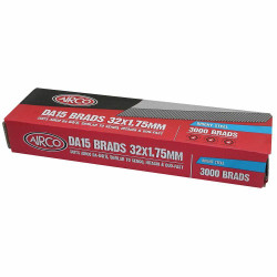 Airco 32mm DA Series Brads - Box of 3000 # BC15320