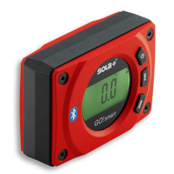 Sola GO SMART Digital Compact Magnetic Inclinometer Spirit Level with Bluetooth - 01483001