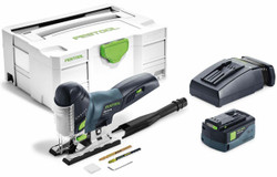 Festool PSC420 CARVEX 18V Cordless Barrel Jigsaw 5.2Ah Set in Systainer 575016 # PSC420PLUS-TCL6