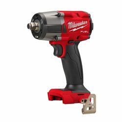 """Milwaukee 18v Cordless FUEL 1/2"""" Mid-Torque Impact Wrench with Friction Ring - Skin # M18FMTIW2F12-0"""