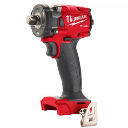 """Milwaukee 18V Fuel Brushless 1/2"""" Compact Impact Wrench with Pin Detent Skin # M18FIW2P12-0"""