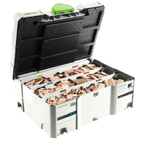 Festool Assorted Domino Beech Tennons and Cutters in Systainer - 498899