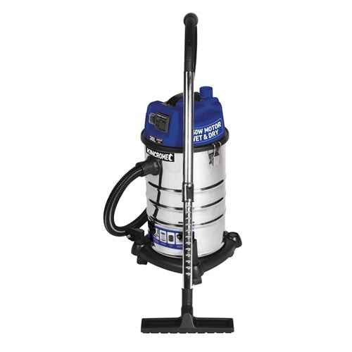 Kincrome Wet and Dry 30Ltr Garage Vacuum 1250w - KP703