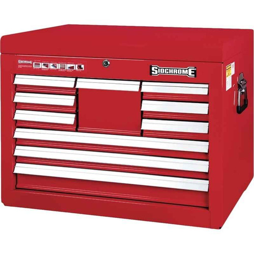 Sidchrome 10 Drawer Extra Deep Tool Chest - SCMT50200