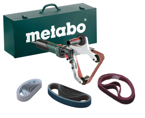 Metabo INOX 1550w Electronic Pipe Belt Sander for Stainless Steel # RBE15-180SET