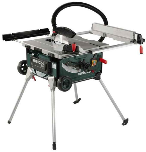 Metabo 2000W Table Saw Integrated Stand - TS254