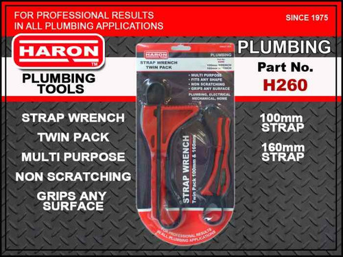 Haron Strap Wrench Twin Pack - H260