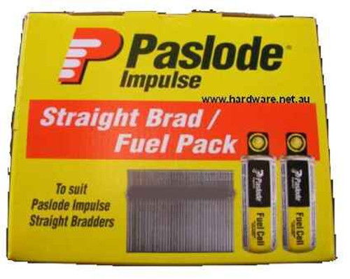 Paslode 62mm ND Series 14ga Galvanized Nails - Pack of 2000 #B20645