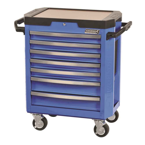 Kincrome Contour 7 Drawer Blue Tool Trolley - K7747