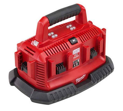 Milwaukee M18 Six-Pack Sequential Charger Station - M1418C6