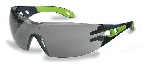 Uvex Pheos Style, Comfort, Safety and Performance EyeWear - Black and Grey #9192-302