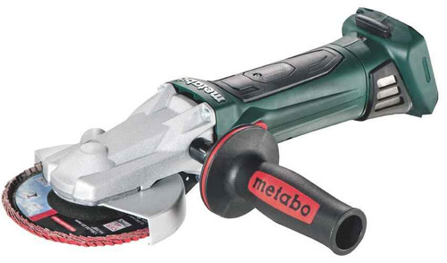 Metabo 18v Lithium Ion Cordless Flat Head Angle Grinder 125mm - SKIN ONLY #WF18LTX125-SK