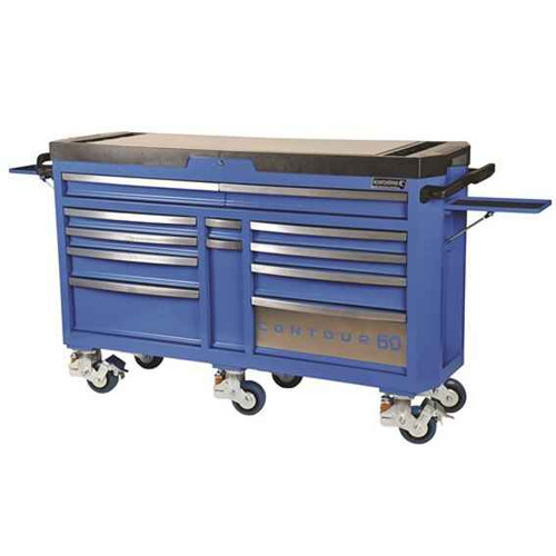 Kincrome CONTOUR 60 Superwide 12 Drawer Tool Trolley - K7860
