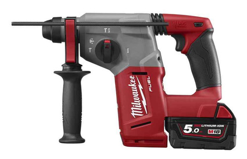 Milwaukee M18 FUEL 26mm Rotary Hammer Kit #M18CH-502C