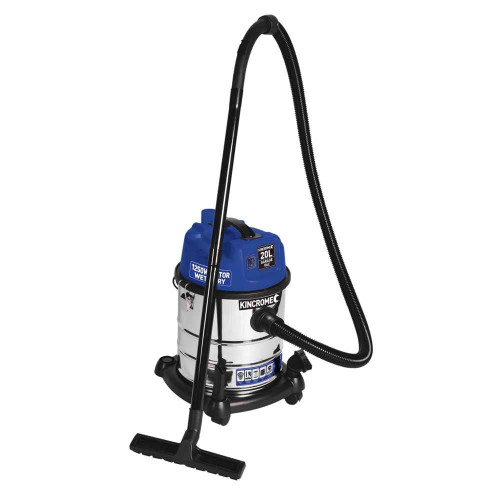 Kincrome Wet and Dry 20Ltr Garage Vacuum 1250w - KP702