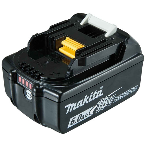 Makita 18V6.0Ah Lithium-Ion Cordless Battery with Fuel Gauge - BL1860B-L