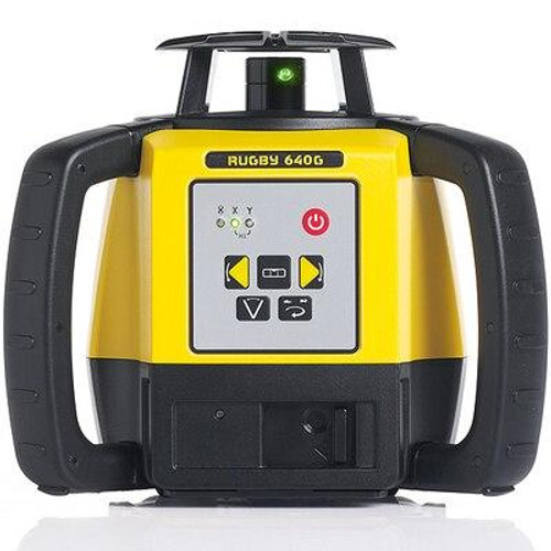 Leica Rugby 640 Green Laser Level Kit - LG6011488