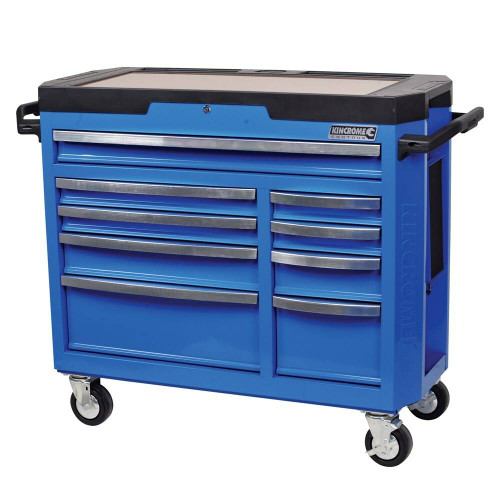 Kincrome CONTOUR 9 Drawer Electric Blue Tool Trolley - K7759