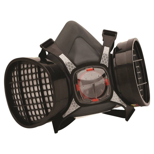 ProChoice Maxi Mask 2000 Twin Filter Half Mask With ABEK1 Cartridges - HMABEK1