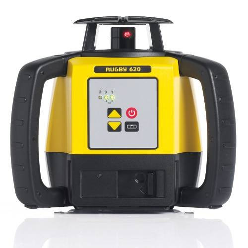 Leica Rugby 620 Rotating Laser Level RE120 Receiver # LG6011152
