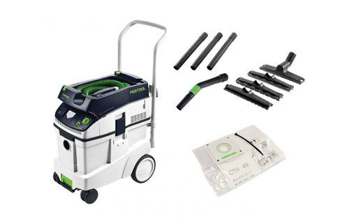 Festool 48Ltr H-Class Special Dust Extractor 201482 # CTH48E-FS